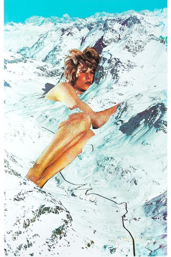 Le col de Julie, 50 x 70 cm, 2018