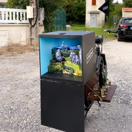 Opération Crotale, 40 x 40 x 40 cm, 2020